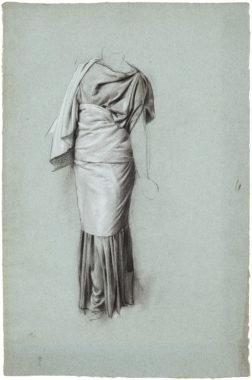 Studie einer antikisch gewandeten Frau