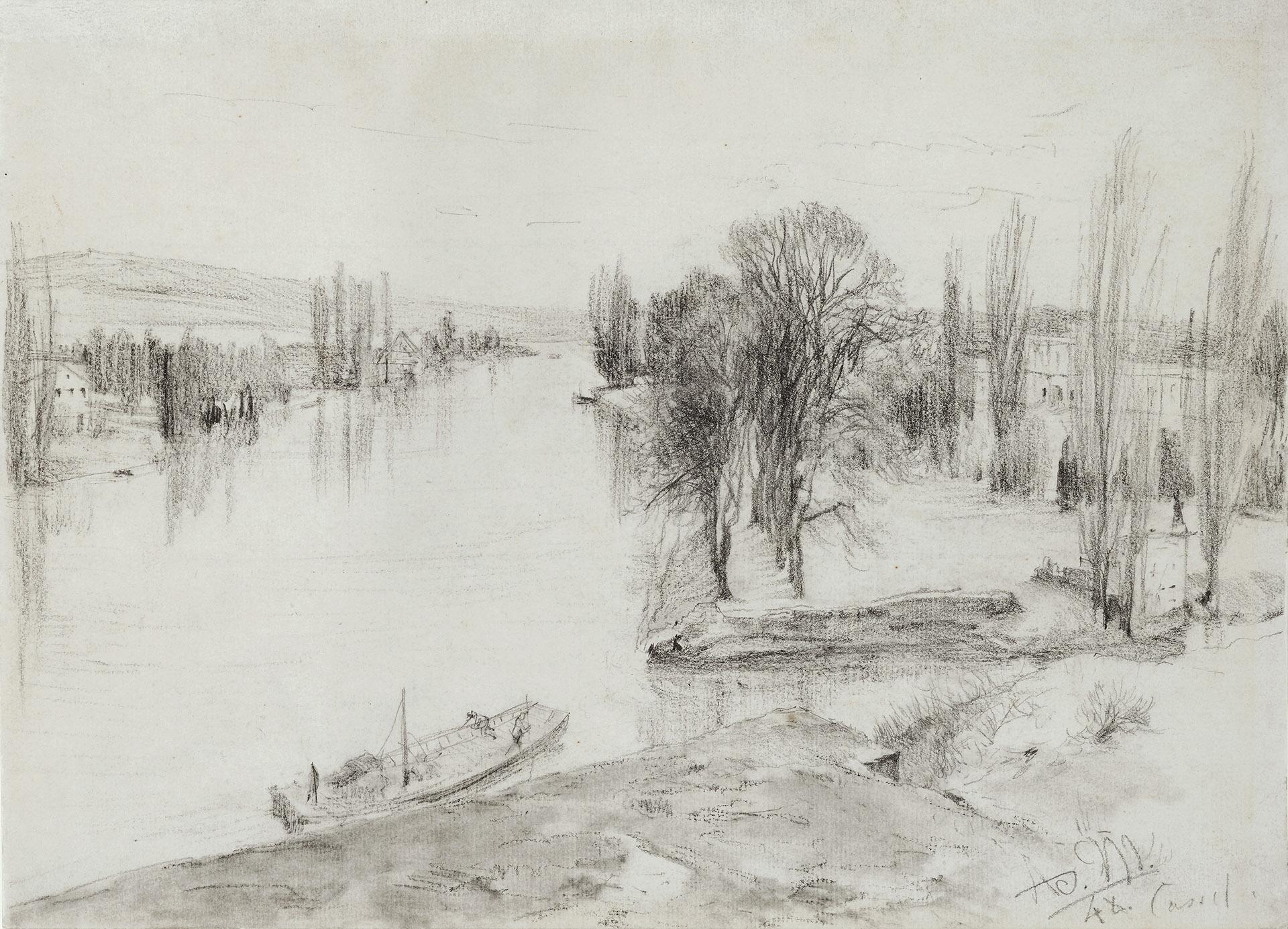The River Fulda near Kassel