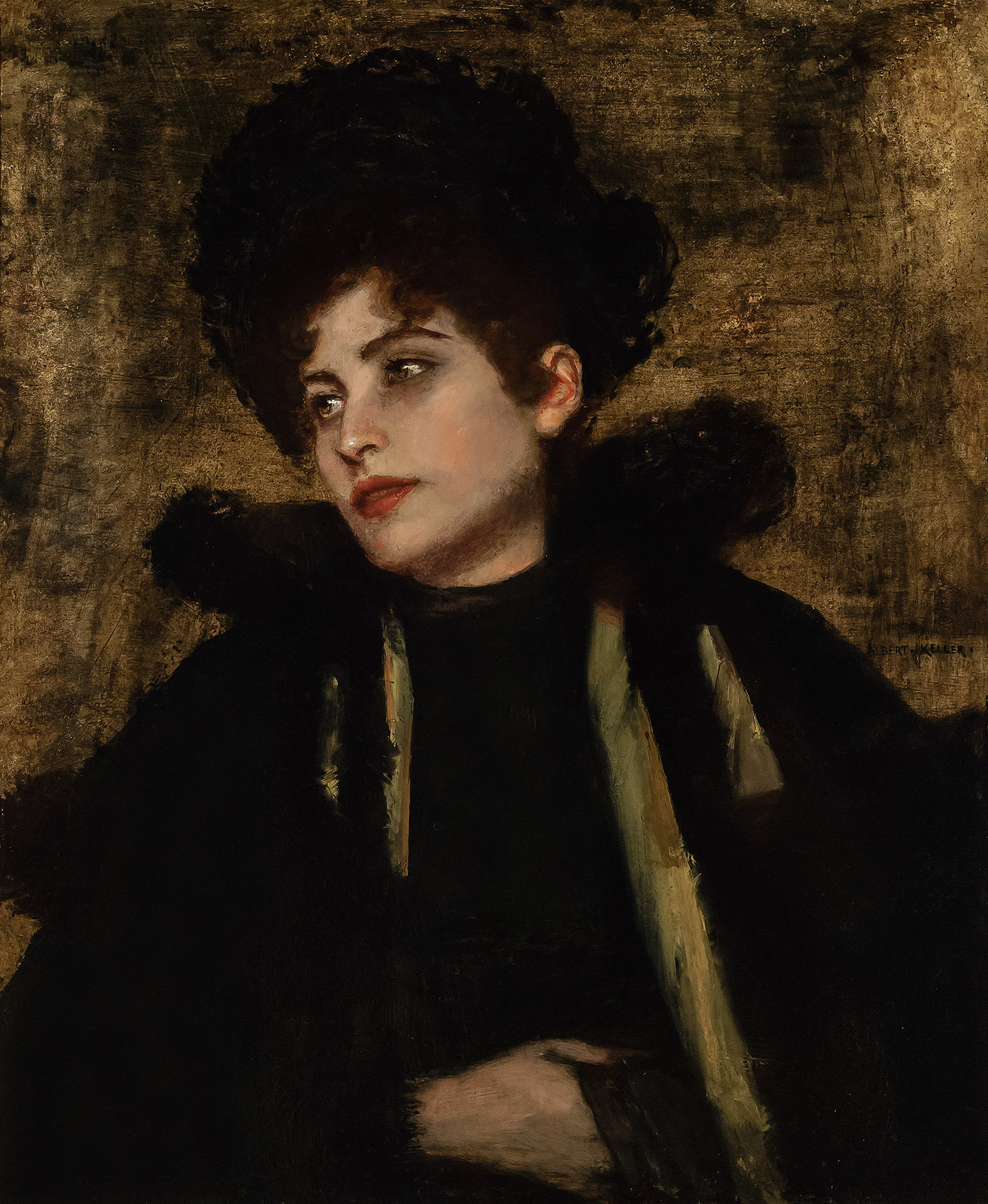 Portrait of Lily disgeistes