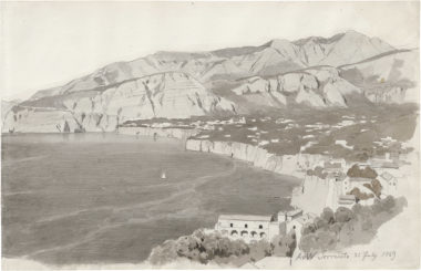 View over the Sorrent Coastline