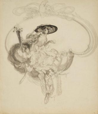Franz von Bayros - Venus triumphans