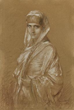 Franz von Lenbach - Orientalin