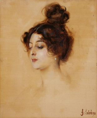 Portrait of the Dancer Saharet