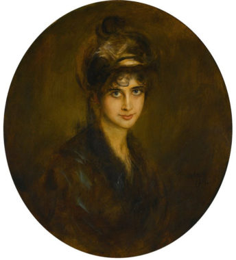 Portrait of Lydia Feez