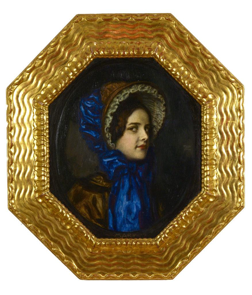Mary in a Biedermeier Hat