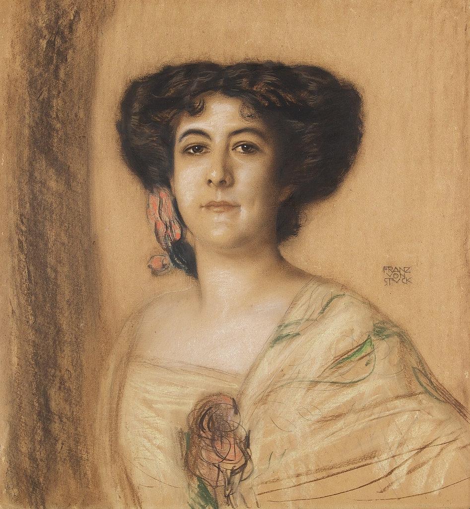 Franz von Stuck - Portrait einer Dame