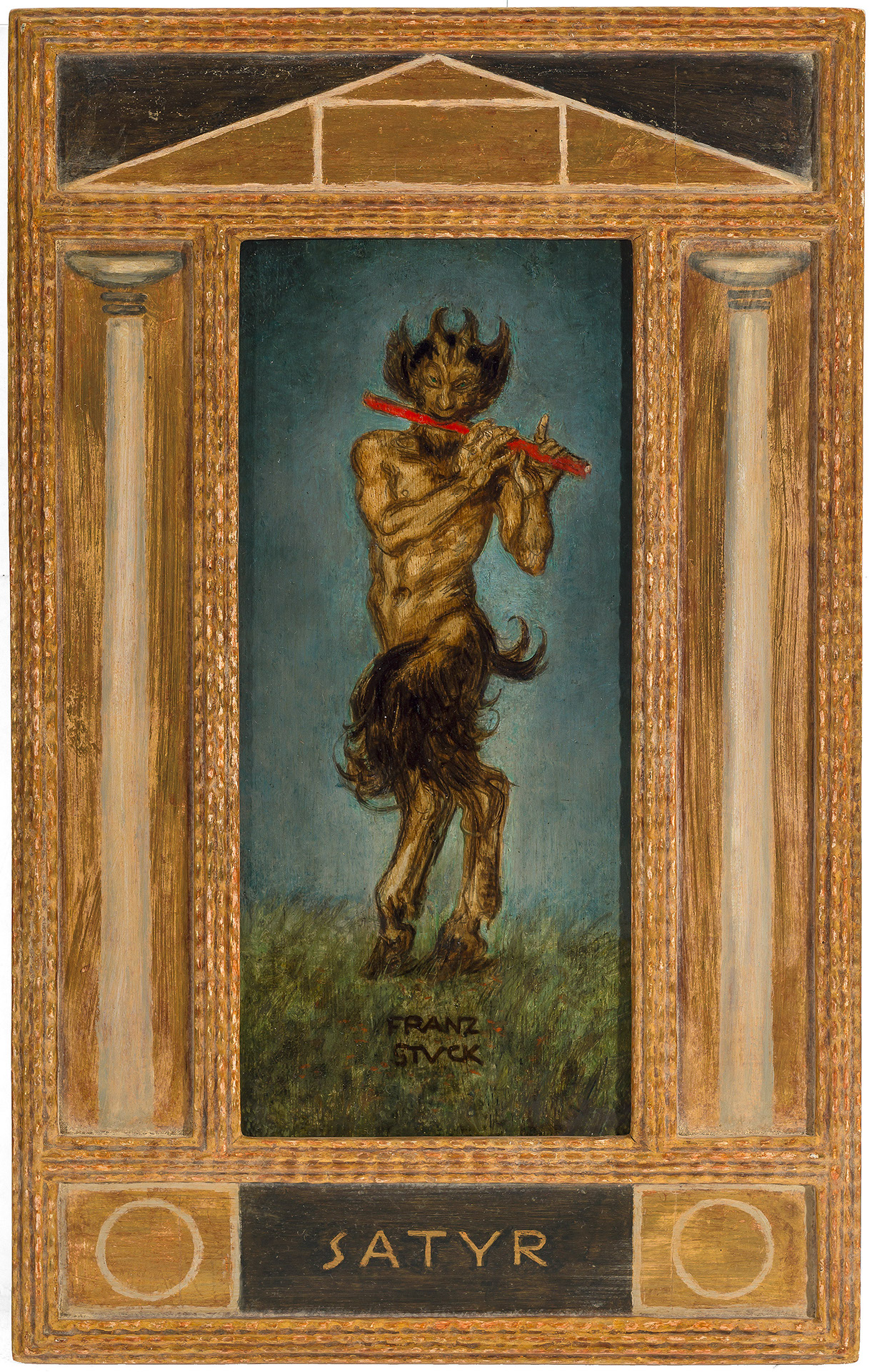 Satyr with Flute