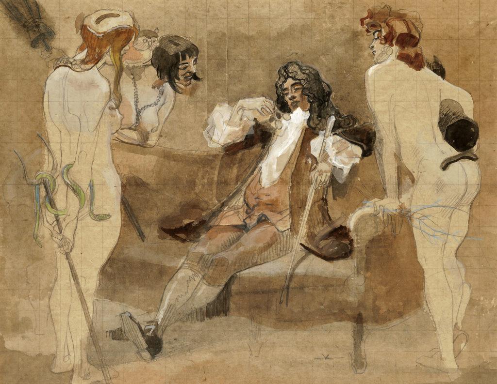 The Indecisive Rococo Cavalier