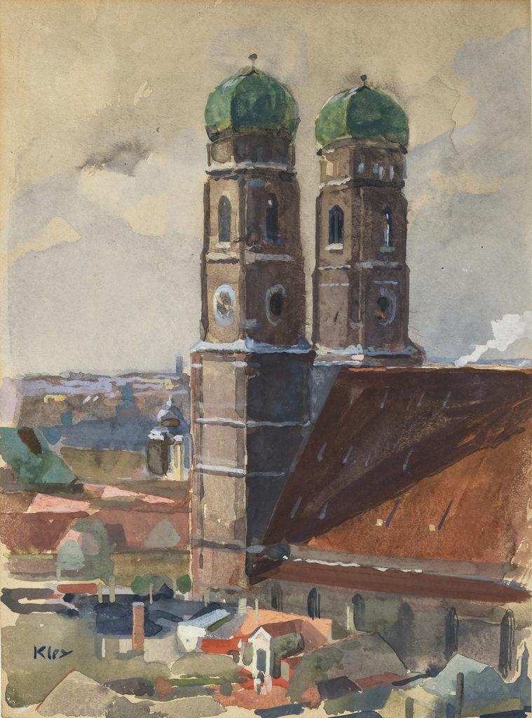Die Türme der Münchner Frauenkirche