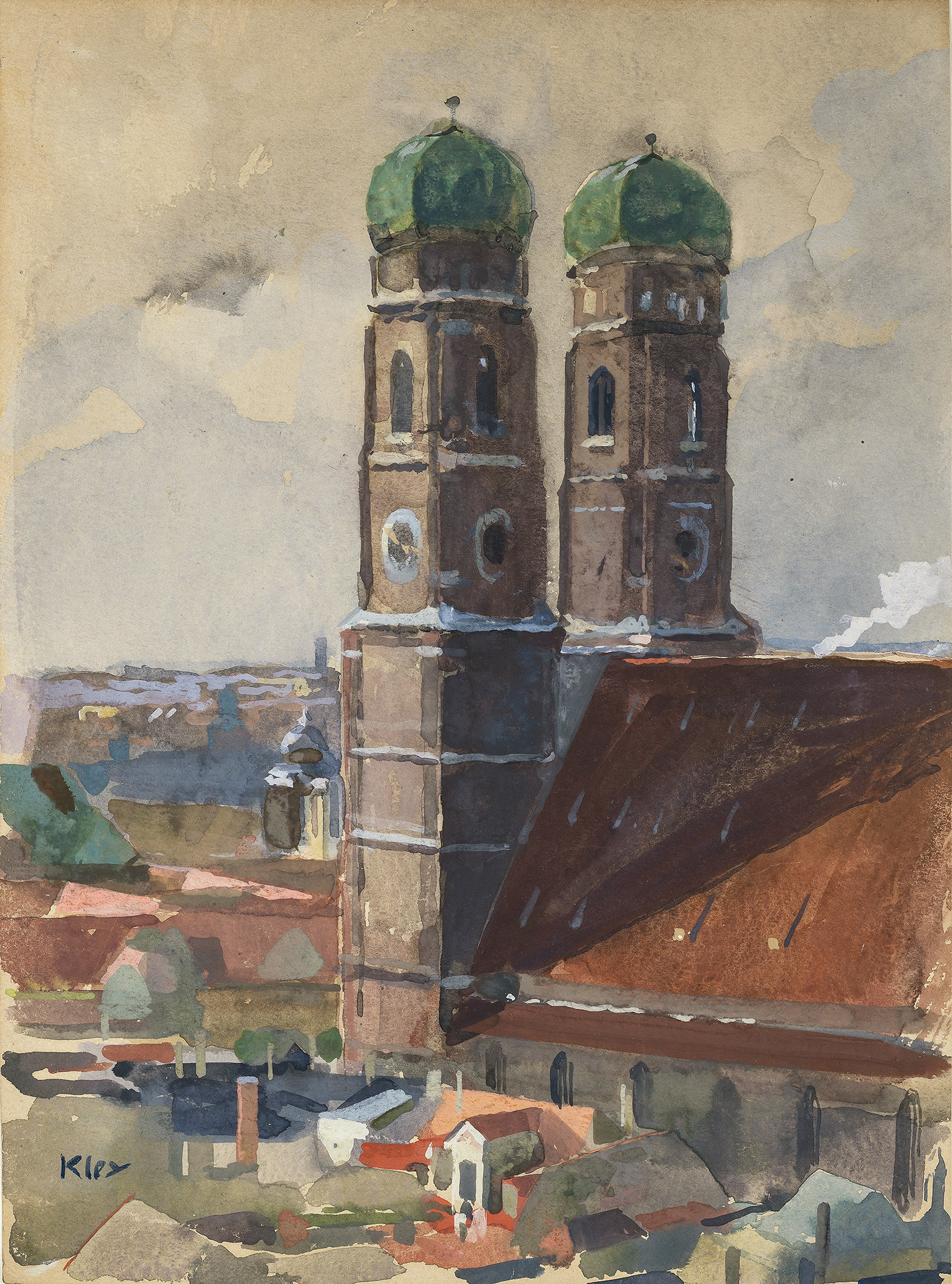 The Towers of the Munich Frauenkirche