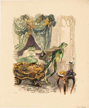 Heinrich Kley - Frau Potiphar