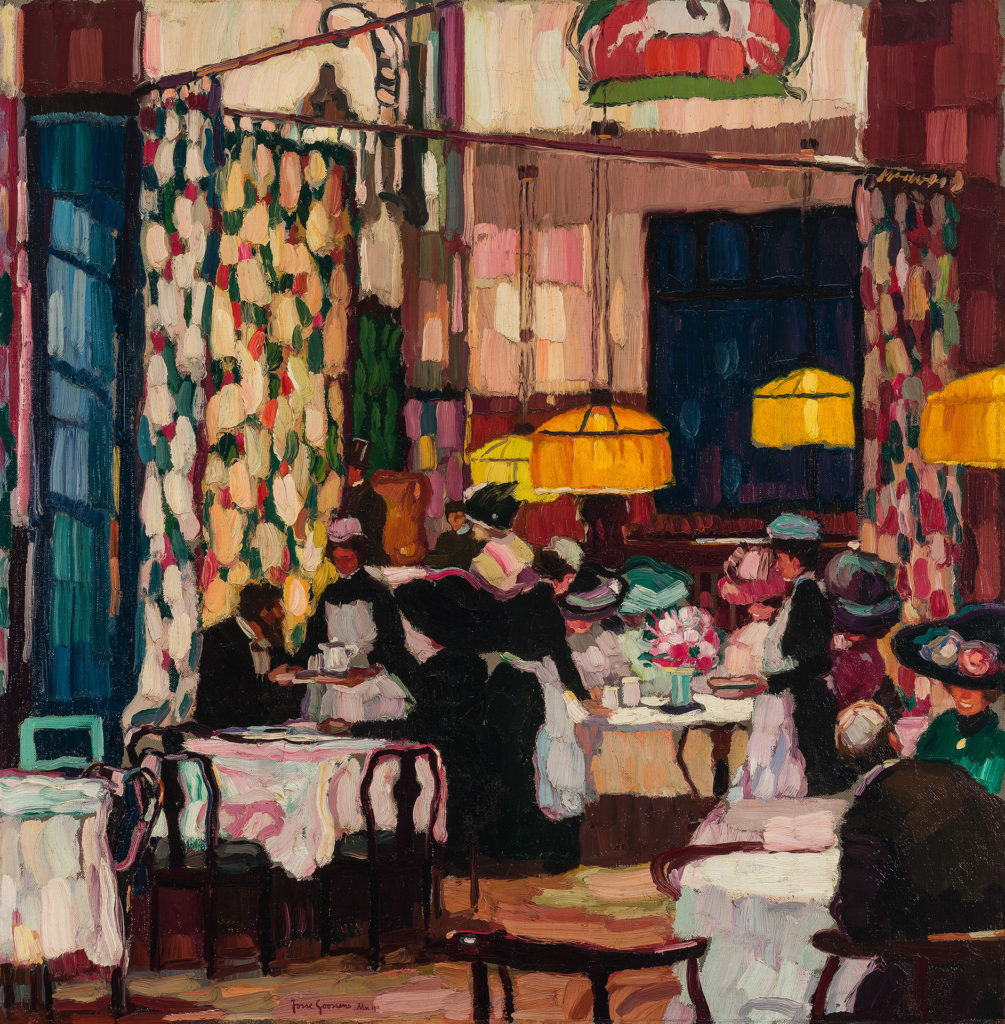 In the Tearoom
