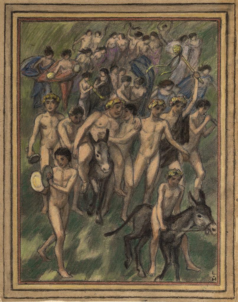 Bacchic Procession