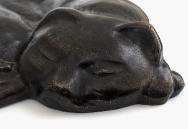 Marg Moll - Schlafende Katze