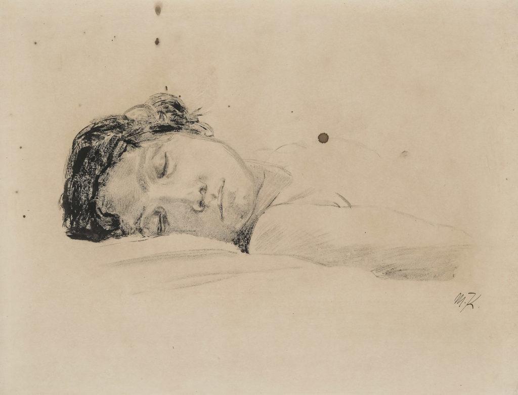 Max Klinger - Schlafende