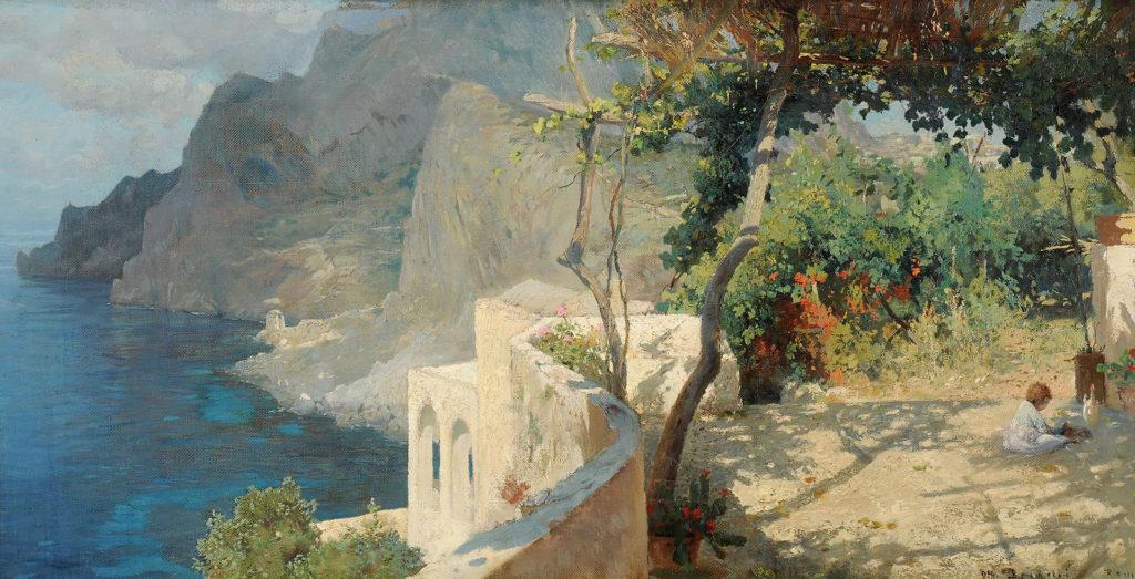 Othmar Brioschi - Capri