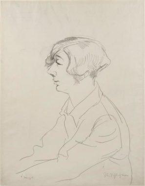 Rudolf Schlichter - Margot