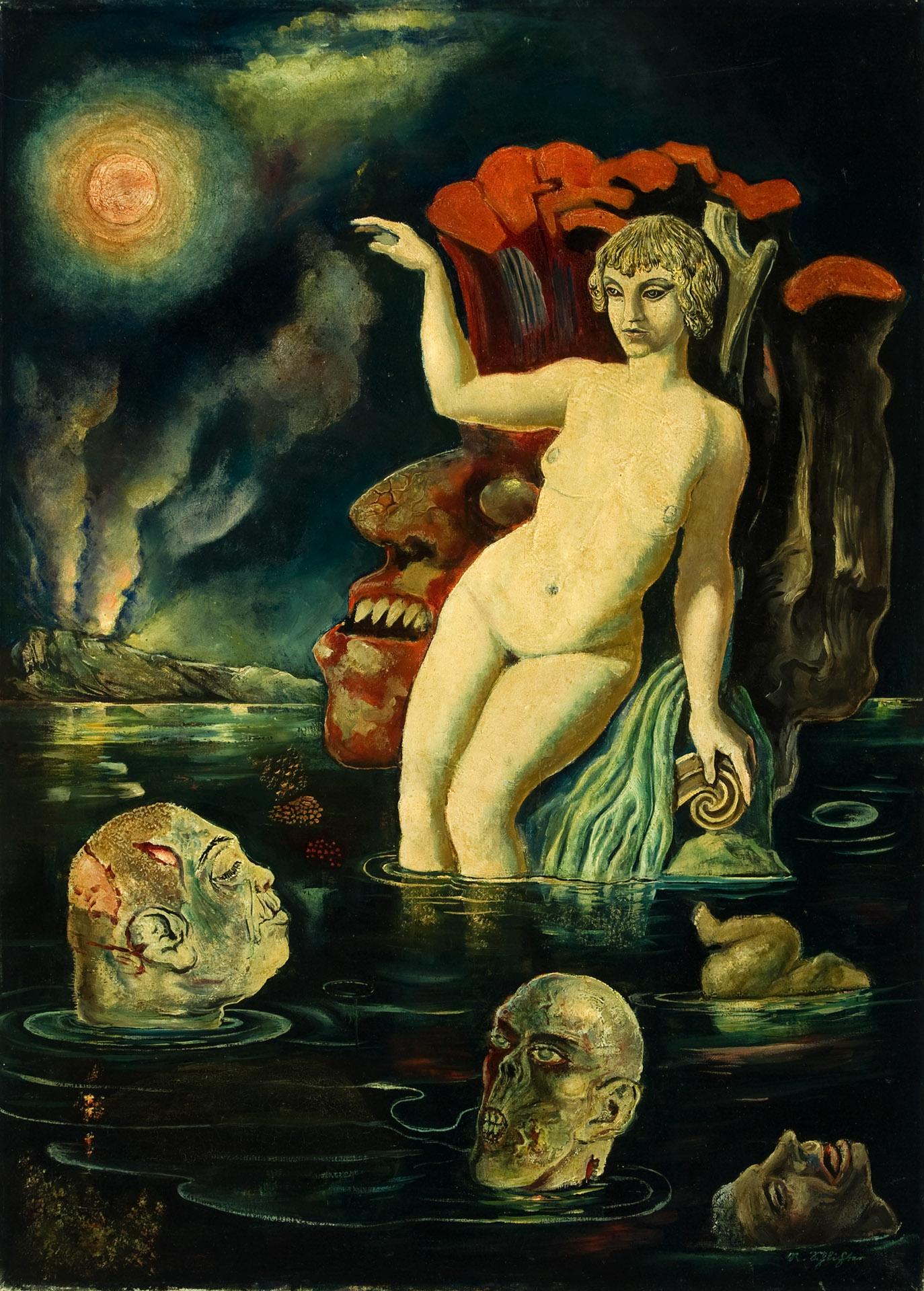 Rudolf Schlichter - Apokalyptische Szene