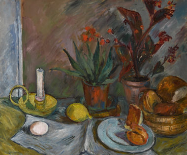 Still life with Candelabra