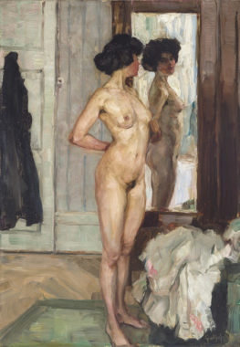 Nude in front of Mirror