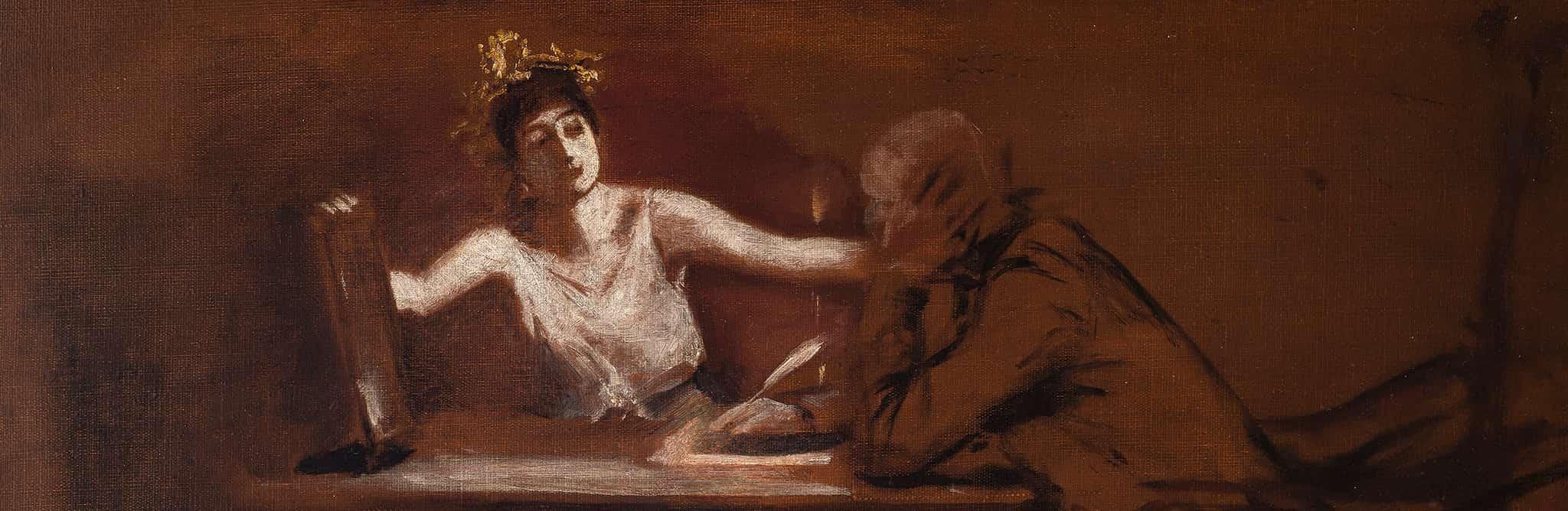 Albert von Keller, Dichter und Muse
