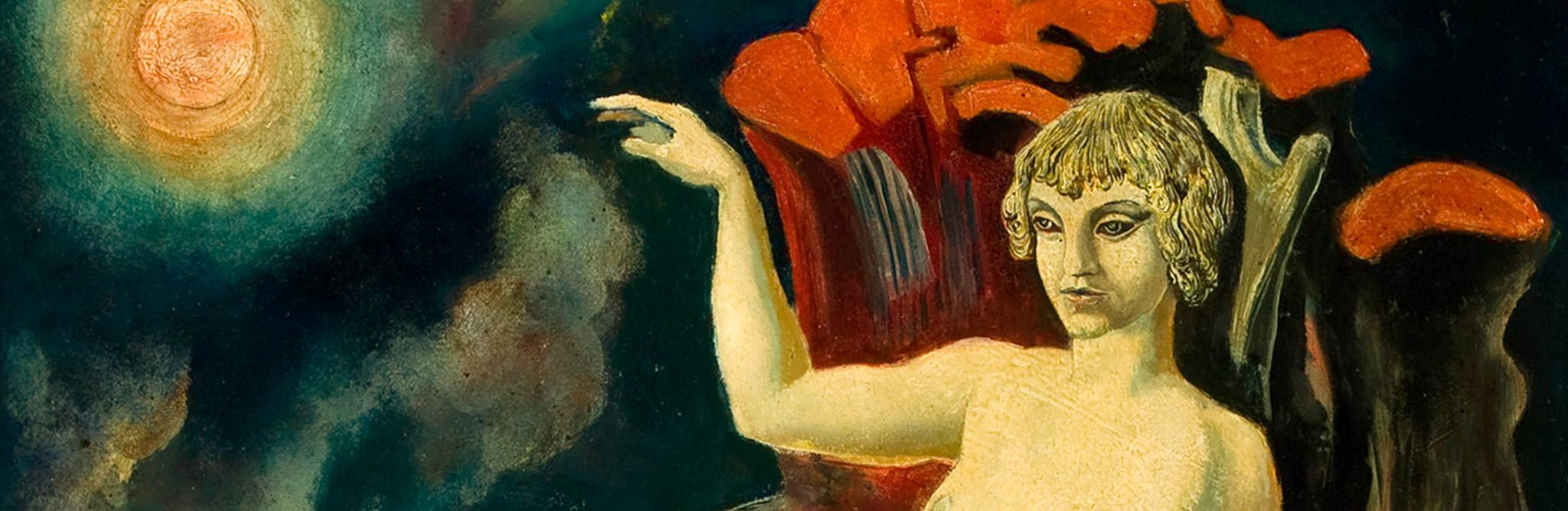 Ernst Ludwig Kirchner, Liegender Akt